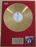 A-Ha - 24 Carat LP Gold Disc - Hunting High And Low